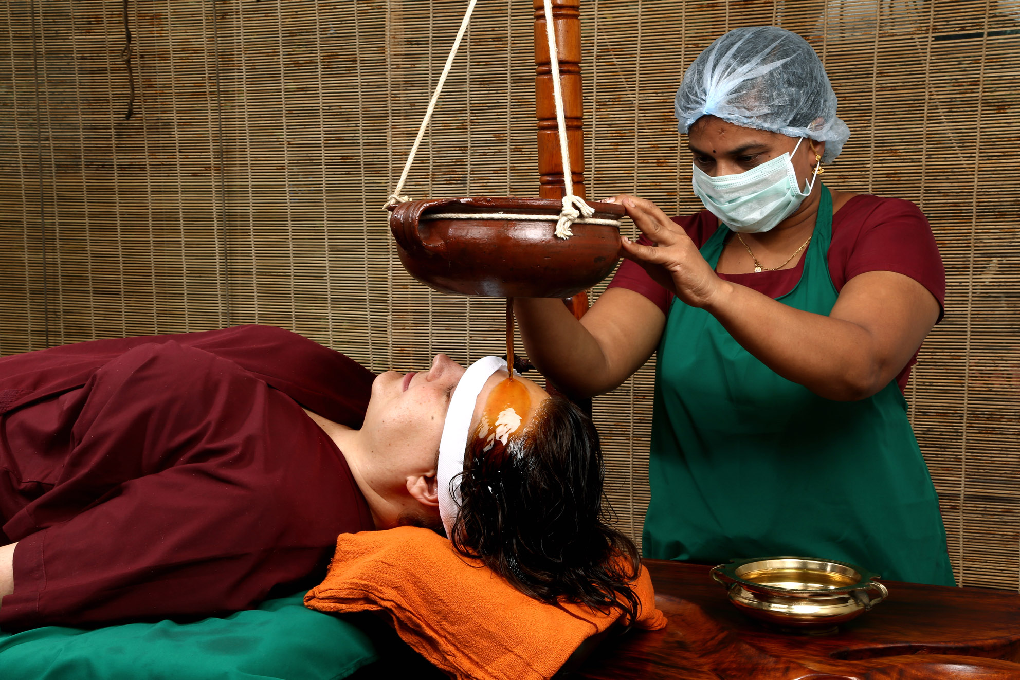 indian ayurvedic treatment Indian ayurvedic hospital offers the obesity programme, which consists of some of the finest treatment procedures in ayurveda, to cure obesity this programme consists of effective body massages with specially made herbal oils, powders and kizhi.